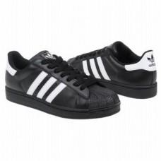 Кроссовки Adidas Superstar Черные (МOPЕVА124)