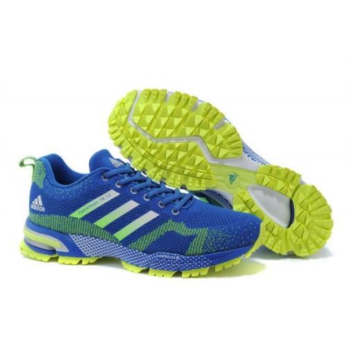 Кроссовки Adidas Marathon Flyknit Синий (К-211)
