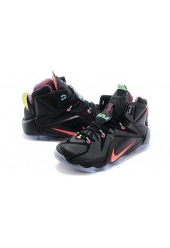 Кроссовки Nike Lebron 12 Черный (О-214)