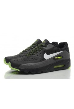 Кроссовки Nike Air Max 90 Ultra BR Black Green (О-132)