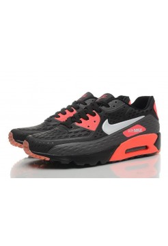 Кроссовки Nike Air Max 90 Ultra BR Black Red (О-133)
