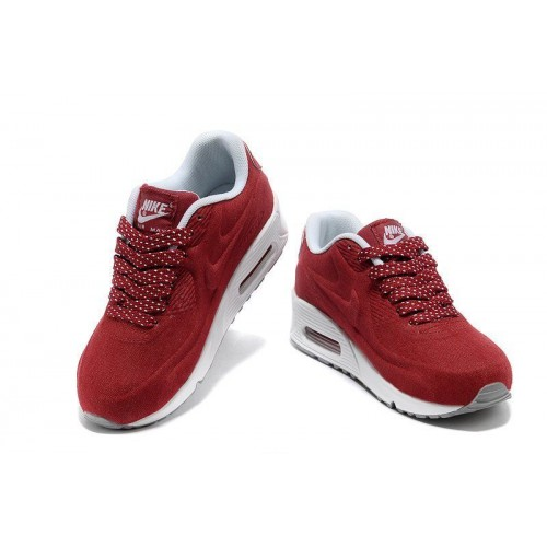 Кроссовки Nike Air Max Kids 90 Красные (О-245)