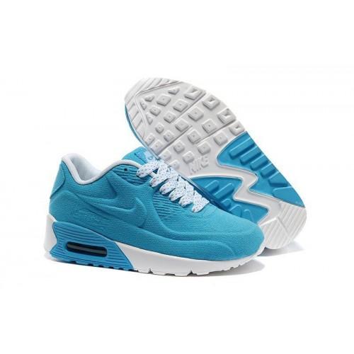 Кроссовки Nike Air Max Kids 90 Синие (О-246)