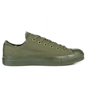 Кеды Converse Chuck Taylor All Star Low Mono Green (O-023)
