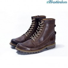 Ботинки Timberland Earthkeepers Rugged High Classic Brown