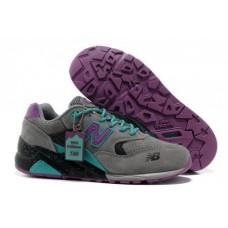 Кроссовки New Balance 580 Grey Purple (O-115)