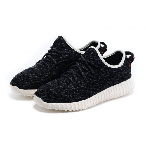 Кроссовки Adidas Yeezy Boost 350 Low Black White (OМ217)
