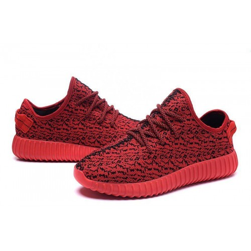Кроссовки Adidas Yeezy Boost 350 Low Red (OЕ219)