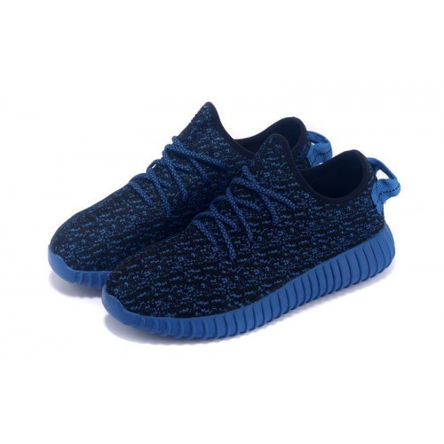 Кроссовки Adidas Yeezy Boost 350 Low Navy Blue (O-221)