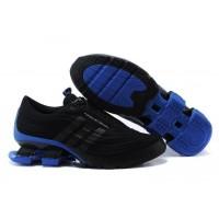 Кроссовки Adidas X Porsche Design Sport BOUNCE S4 Black Blue (О-414)