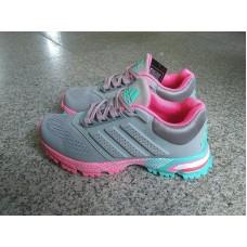 Кроссовки Adidas Marathon TR 15 Grey Pink (О-413)