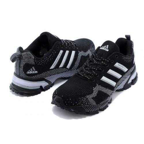 Кроссовки Adidas Marathon 10 Black (ОК-415)