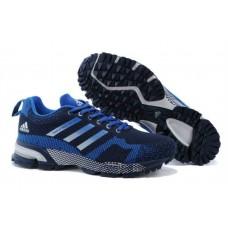 Кроссовки Adidas Marathon 10 Синие (О-416)