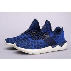 Кроссовки Adidas Tubular Runner Primeknit Stone Blue (ОЕ373)
