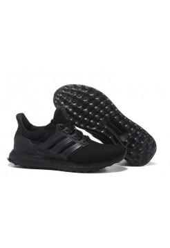 Кроссовки Adidas Ultra Boost All Black (ОАW324)
