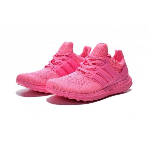 Кроссовки Adidas Ultra Boost All Pink (О-324)