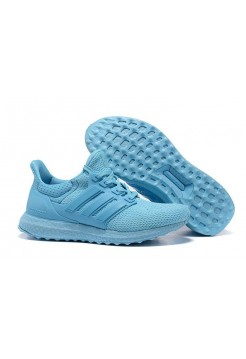 Кроссовки Adidas Ultra Boost All Light Blue (О-321)