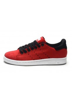 Кроссовки Adidas Stan Smith Original Red (О-012)