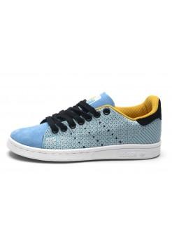 Кроссовки Adidas Stan Smith Original Blue (О-112)