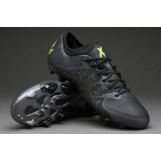 Кроссовки Adidas X 15.1 FG Black (O-322)