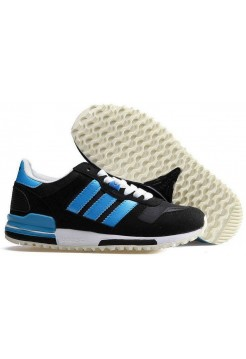 Кроссовки Adidas ZX 700 Originals Black Electric Blue (О-249)