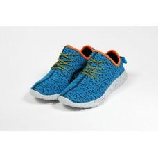 Кроссовки Adidas Yeezy Boost 350 Синие (К-271)