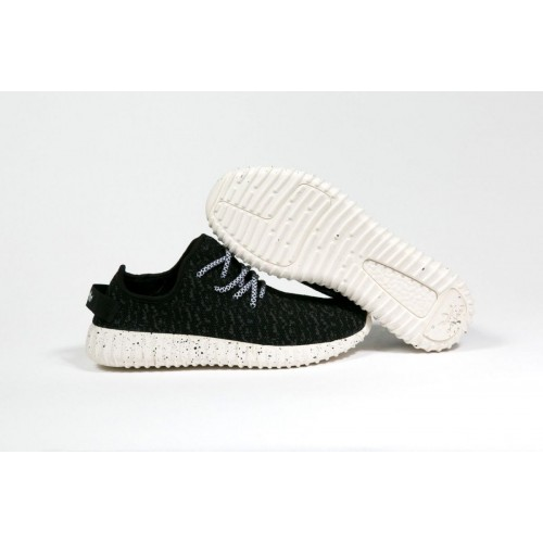 Кроссовки Adidas Yeezy Boost 350 Черные (К-272)