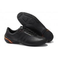 Кроссовки Adidas Porsche Design Черные/оранж (WI-007)
