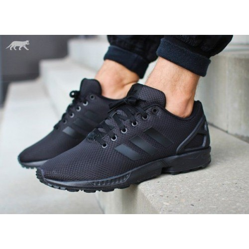 Кроссовки Adidas Zx Flux Black (WV-217)