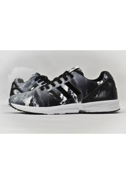 Кроссовки Adidas Zx Flux Серые (V-211)
