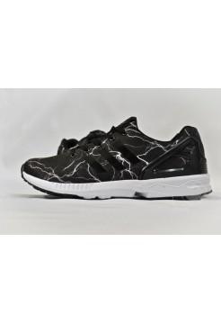 Кроссовки Adidas Zx Flux Черные (V-212)