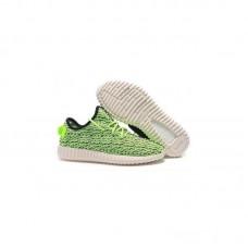 Кроссовки Adidas Yeezy Boost 350 Зеленые (М-273)