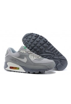 Кроссовки Nike Air Max 90 Premium Grey Limited Edtion (О-128)
