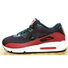 Кроссовки Nike Air Max 90 Hyperfuse Красные/черные(О-751)