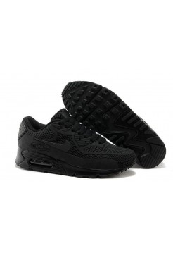 Кроссовки Nike Air Max 90 GL All Black (О-354)