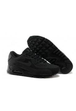 Кроссовки Nike Air Max 90 GL All Black (О-354)
