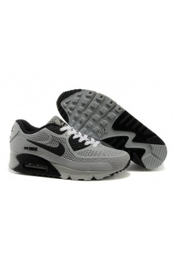 Кроссовки Nike Air Max 90 GL Grey Black (О-351)