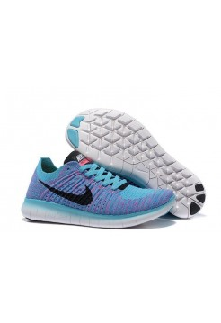 Кроссовки Nike Free Run Flyknit 5.0 Magasin Blue (ОЕ-121)