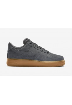 Кроссовки Nike Air Force Low Grey Suede (ОЕVА512)