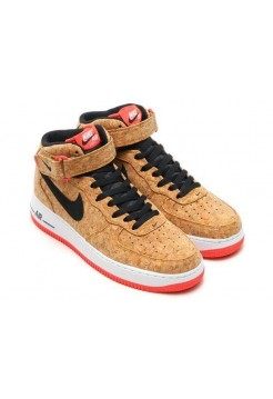 Кроссовки Nike Air-Force High Mid Cork (ОЕ-213)