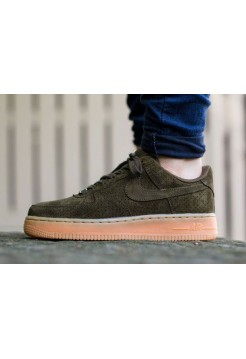 Кроссовки Nike Air Force Low Dark Loden (ОV-513)