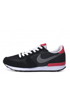 Кроссовки Nike Internationalist Black Red (О-120)