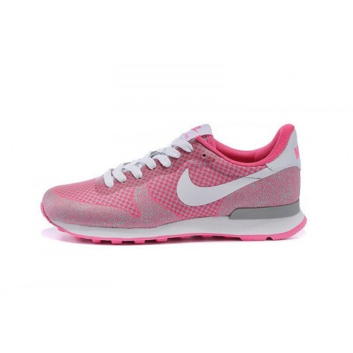 Кроссовки Nike Internationalist HPR Pink (О-121)