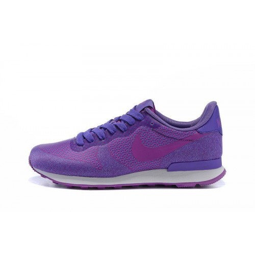 Кроссовки Nike Internationalist HPR Purple (О-122)
