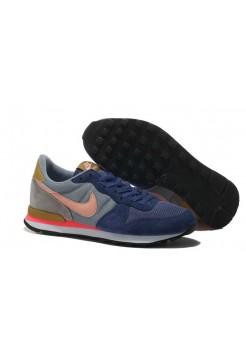 Кроссовки Nike Internationalist Blue Orange (О-125)