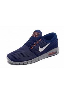 Кроссовки Nike SB Stefan Janoski Max Blue (О-218)