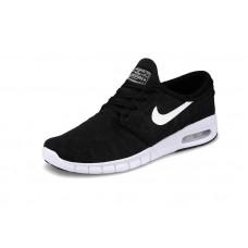 Кроссовки Nike SB Stefan Janoski Max Black White (ОМ-219)