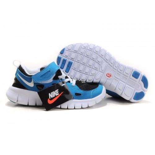 Кроссовки Nike Free Run 2 Kids Синие (О-232)