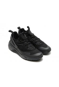 Кроссовки Nike Air Huarache Utility All Black (ОЕ715)