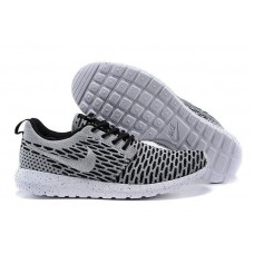 Кроссовки Nike Roshe Run Flyknit London Grey (О-521)